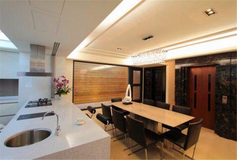 餐厅橱柜简约风格装饰设计图片