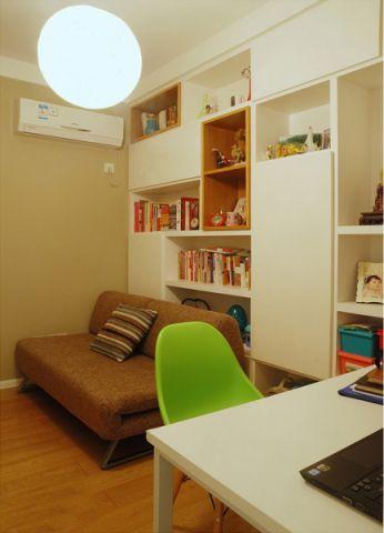 书房细节现代简约风格装修设计图片