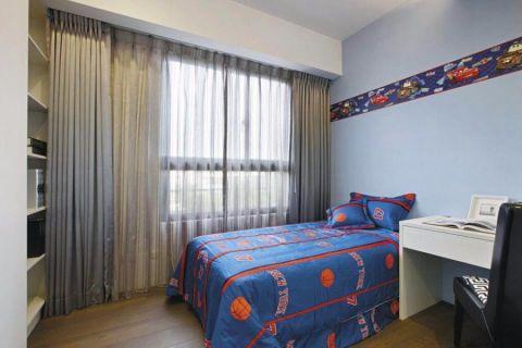 卧室窗帘新古典风格装潢效果图