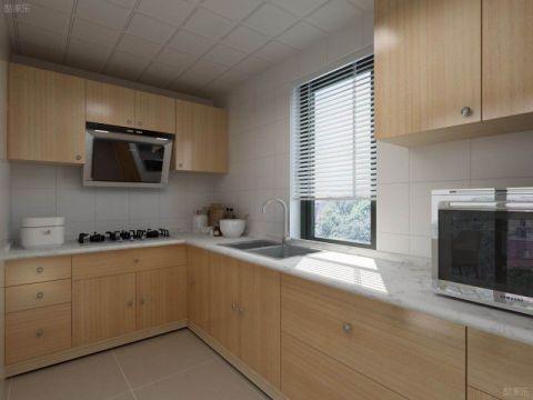 厨房橱柜北欧风格效果图