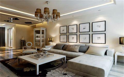 瑞和华府120平现代三居室装修效果图