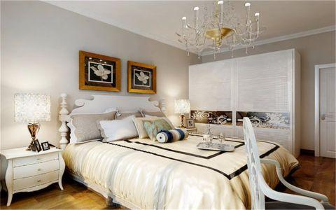 卧室照片墙现代风格装潢图片