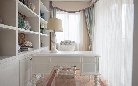 书房细节地中海风格装潢设计图片
