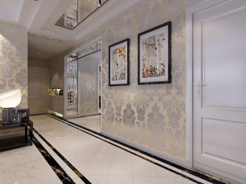 客厅走廊简约风格装潢图片