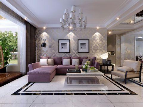 客厅门厅简约风格装饰设计图片