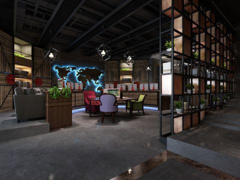 北城明珠460平米网咖电竞城装修效果图