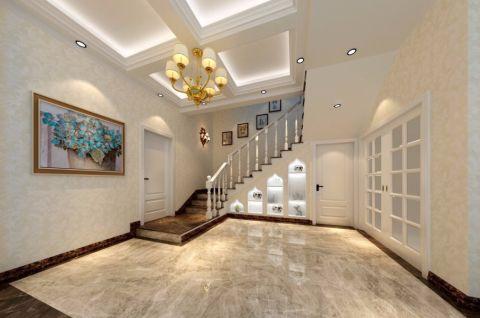 玄关楼梯欧式风格装饰设计图片