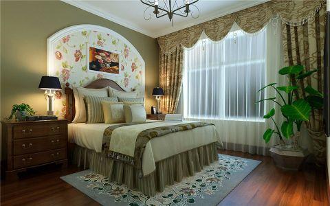 卧室飘窗乡村风格装饰效果图