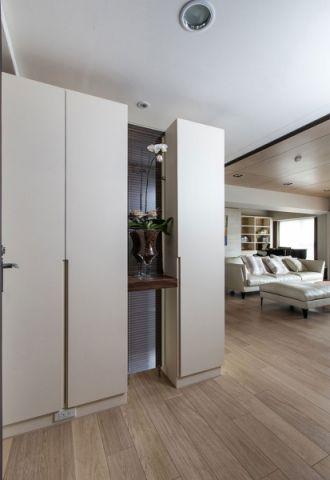 玄关地板砖现代简约风格装潢图片