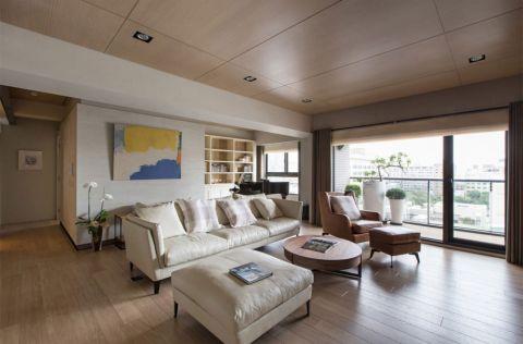 客厅地板砖现代简约风格装饰设计图片