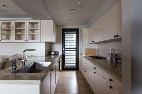 百大春城110平现代简约风格两室两厅一卫装修效果图