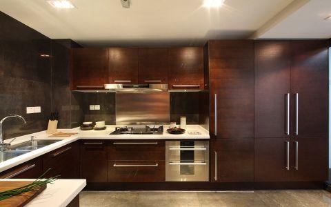 厨房橱柜中式风格装饰设计图片