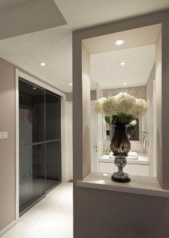 玄关走廊简单风格装潢效果图