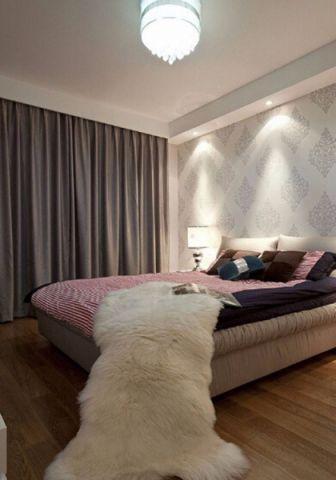 卧室窗帘简单风格装饰图片