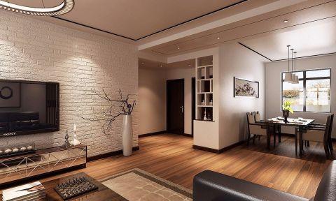 银杏湾120平新中式三居室装修效果图