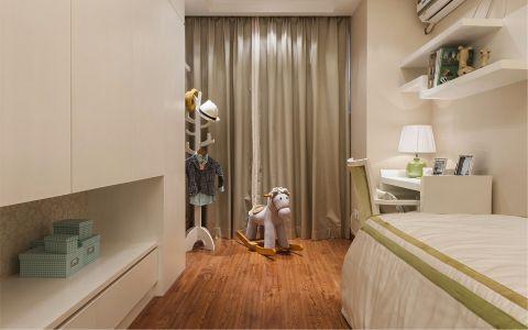 儿童房细节新中式风格装潢效果图