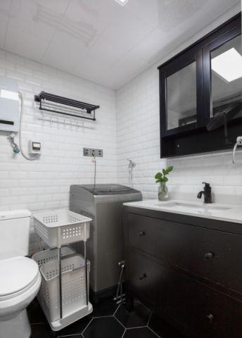 卫生间细节北欧风格装修设计图片