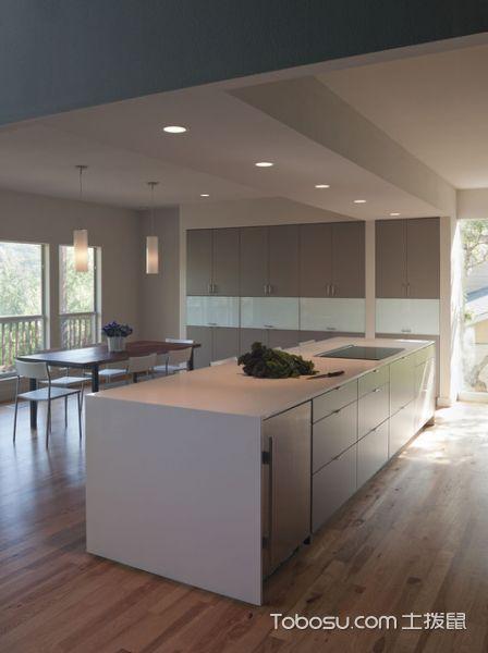 2019现代厨房装修图 2019现代橱柜装修设计