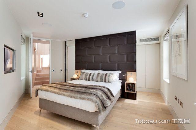 卧室灰色榻榻米现代风格装修效果图