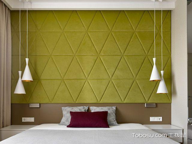卧室白色灯具现代风格装饰图片