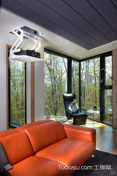 简约现代风格客厅装修效果图