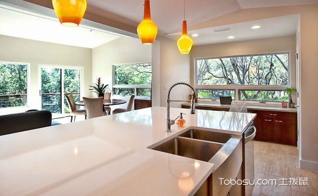厨房现代风格装饰效果图