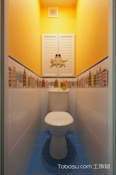 文艺现代风格卫生间装修效果图