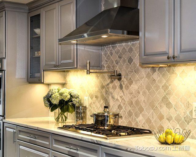 厨房美式风格装潢图片