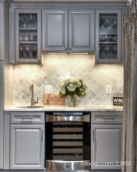 厨房美式风格装修设计图片