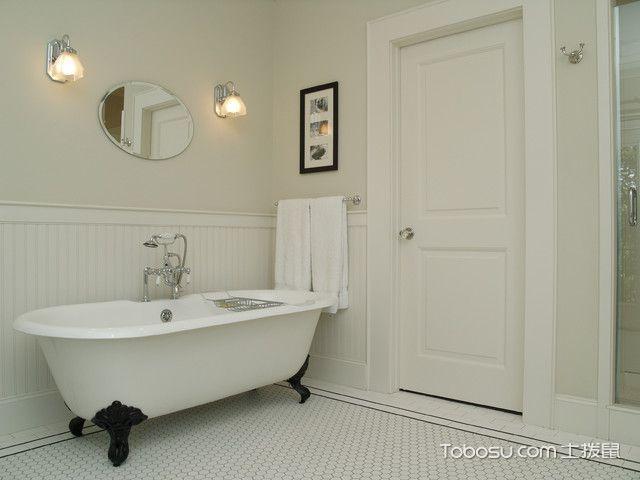 休闲质感美式风格卫生间装修效果图