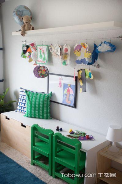 大气沉稳混搭风格儿童房装修效果图
