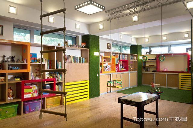 典雅混搭风格儿童房装修效果图