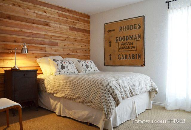 时尚创意混搭风格卧室装修效果图