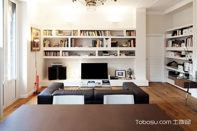 个性休闲现代风格客厅装修效果图