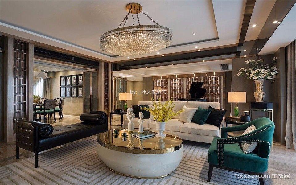 欧式风格198平米别墅室内装修效果图
