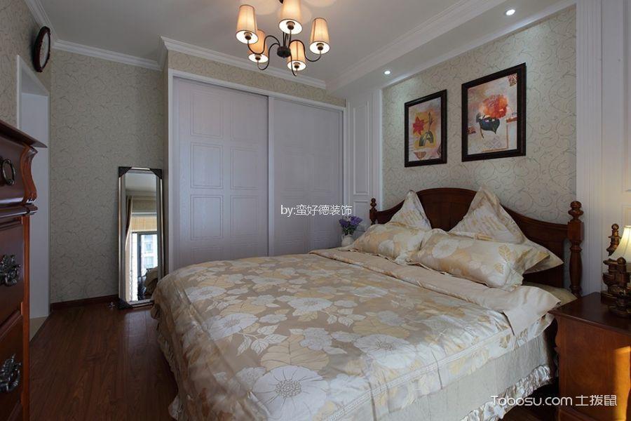 客厅 背景墙_湖畔林语90平米简欧风格二居室装修效果图