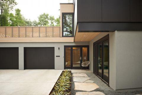 外景门厅现代风格装饰设计图片
