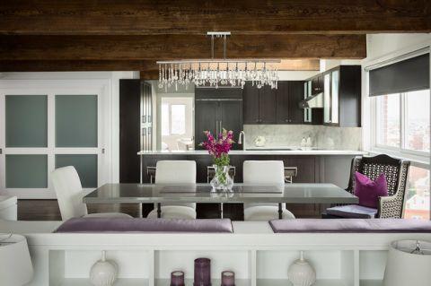 厨房黑色橱柜现代风格装修图片