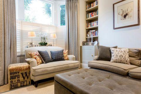 客厅飘窗现代风格装修效果图