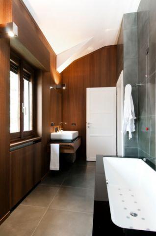 卫生间灰色细节现代风格装饰设计图片