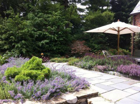 花园绿色细节美式风格效果图