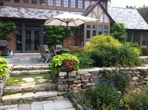 阳台绿色细节美式风格装修效果图