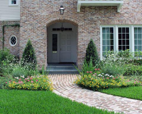 干净舒适美式风格花园装修效果图