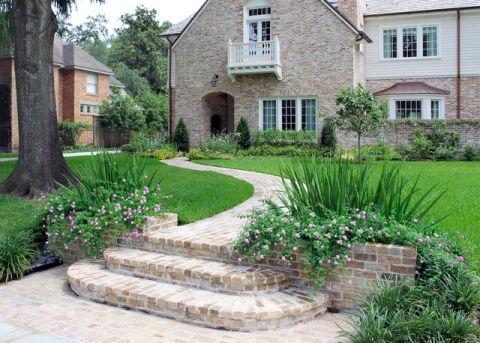 花园绿色细节美式风格装潢效果图