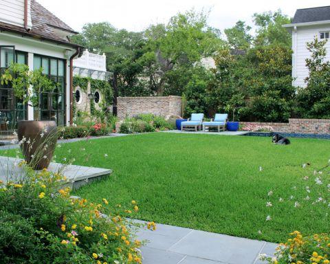 花园绿色细节美式风格装饰图片