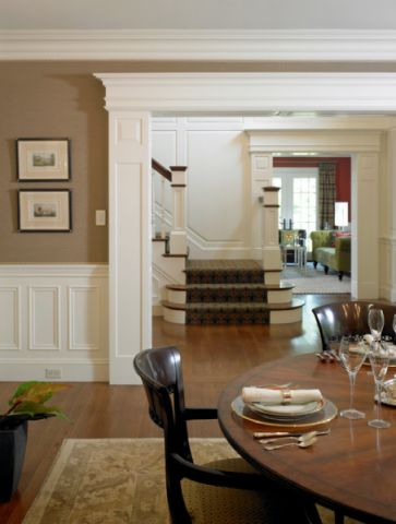 餐厅细节美式风格装修效果图