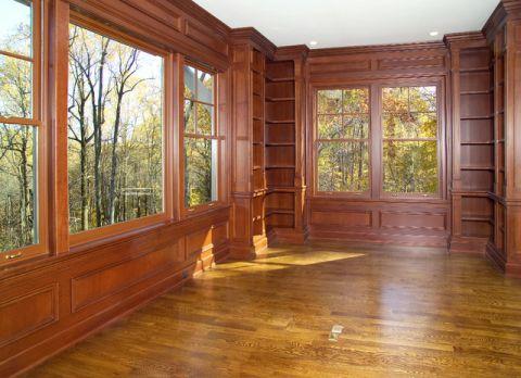 书房飘窗美式风格装修效果图
