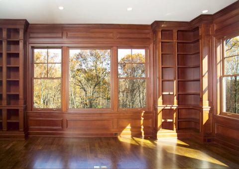 书房细节美式风格装饰效果图