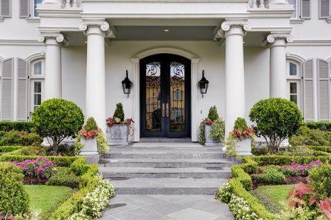 玄关白色门厅美式风格装修效果图