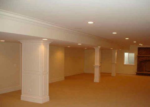 浪漫迷人美式风格地下室装修效果图